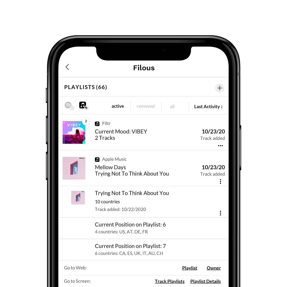 Apple Music Playlists